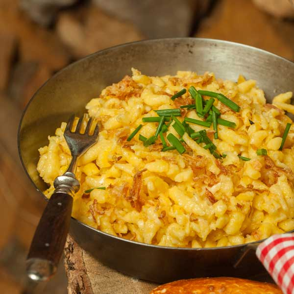 Kaesespaetzle fuer Thermomix_Ars-Ulrikusch_Fotolia_small, Hauptgerichte fuer Thermomix, Nudeln fuer Thermomix