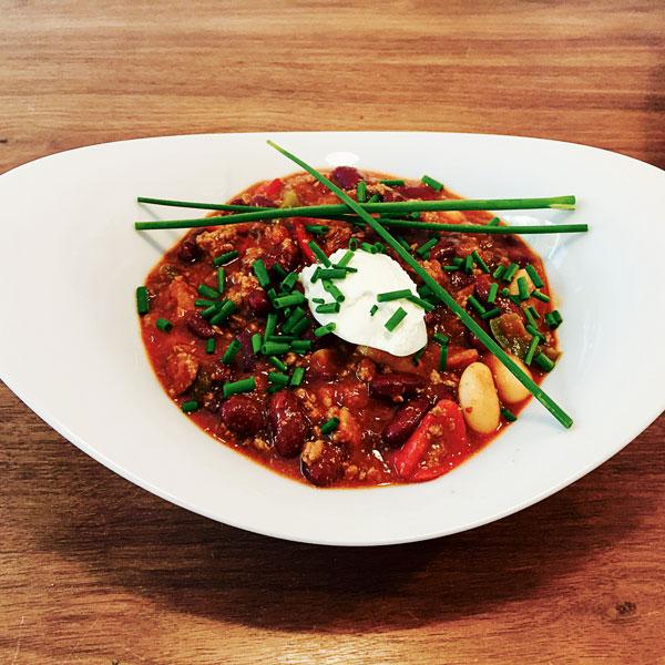 Chili Con Carne Für Den Thermomix Mit Reis