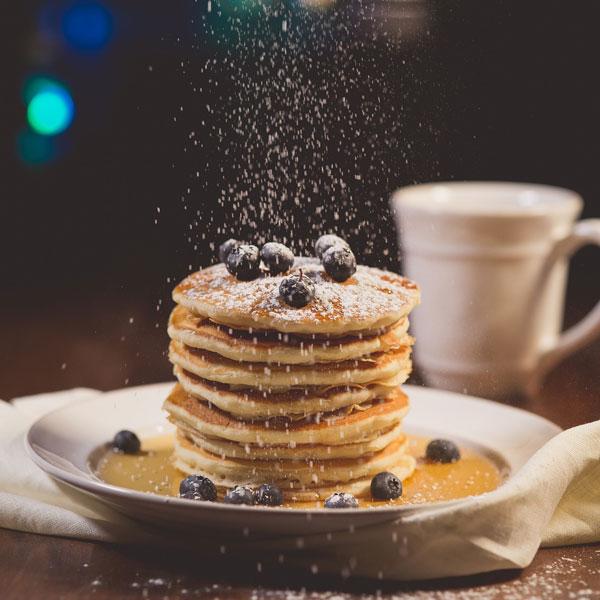 Pancakes-mit-Heidelbeeren_small, Desserts fuer Thermomix, Mehlspeisen fuer Thermomix